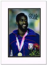 Edwin Moses Autograph Signed Photo